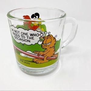 VTG 1978 Garfield McDonald's Collector Glass Mug